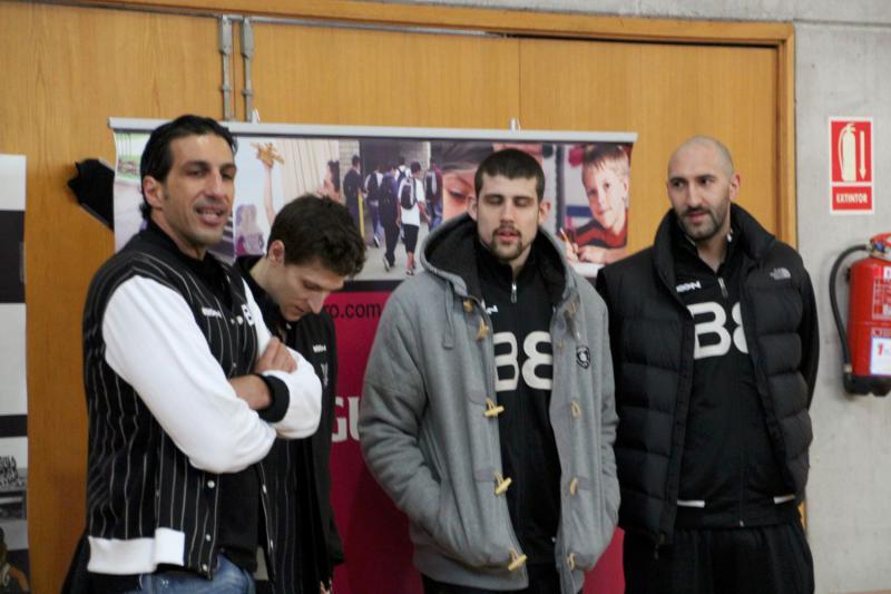 Visita de lujo en La Salle Bilbao