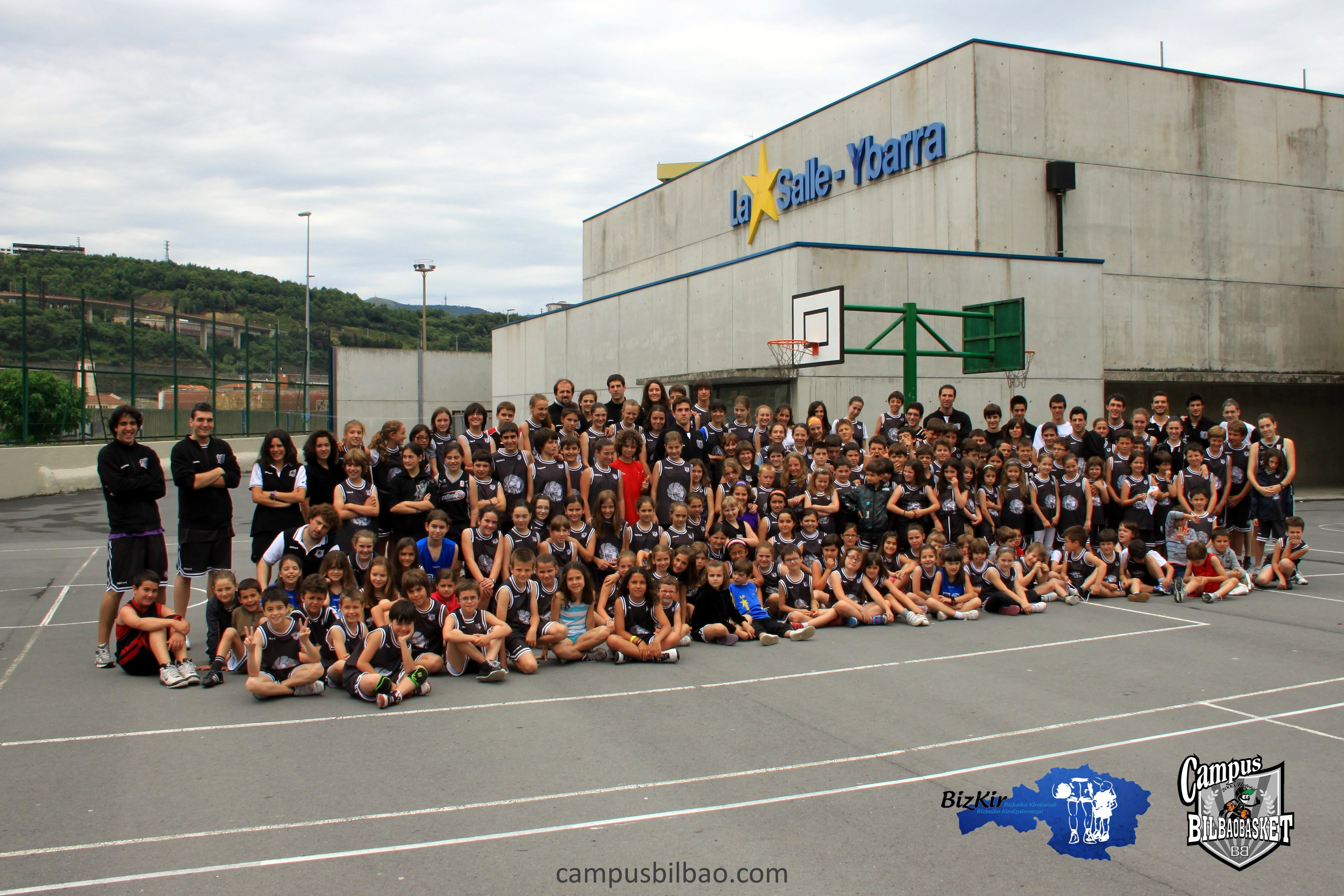 Campus Bilbao Basket en La Salle Bilbao – Verano 2013