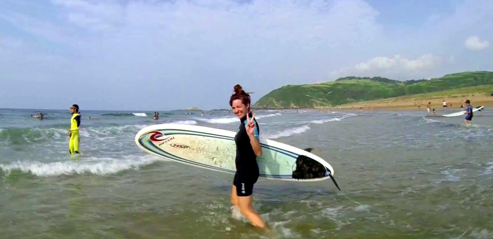 Surf de campusbilbao en Zarautz