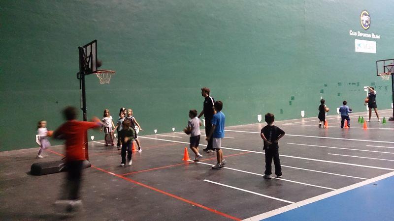 Ha arrancado la Bilbao Basket Eskola
