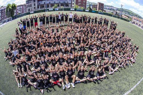Campus de fútbol en Bilbao. Verano 2014