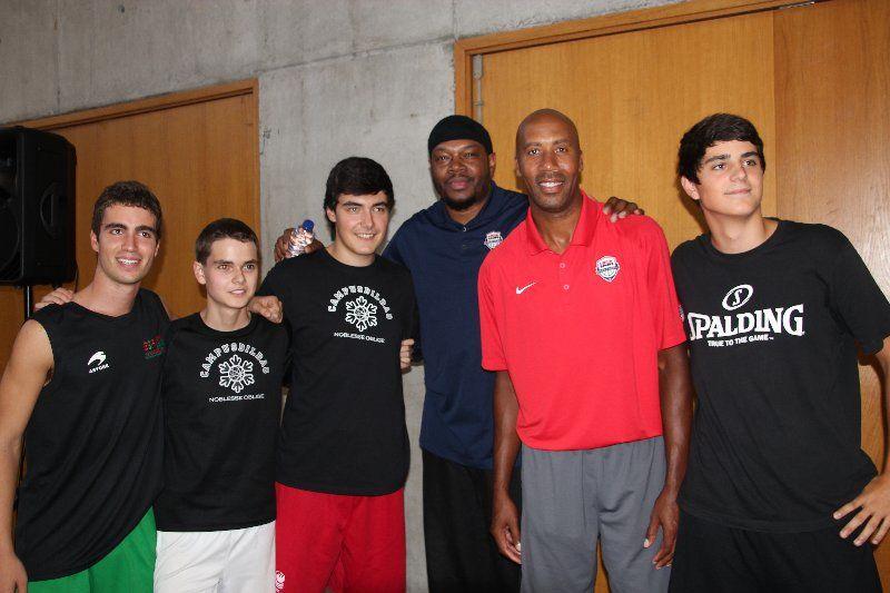 La NBA y el USA team en Deusto