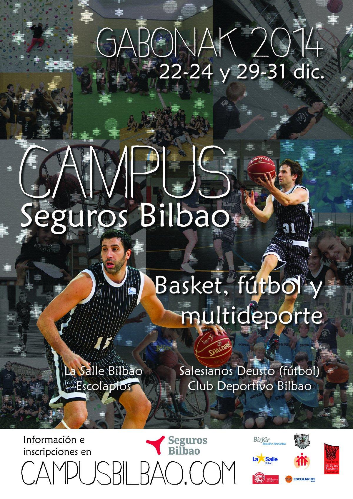 Campus Seguros Bilbao Basket, fútbol y multideporte