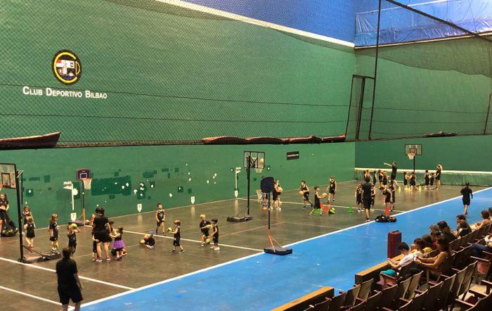 Campus Club Deportivo Bilbao de Minibasket y Multideporte